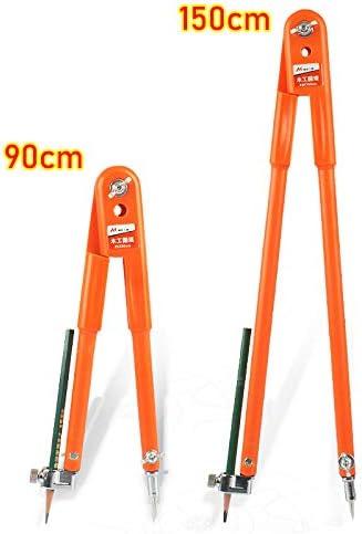 Br/újula de precisi/ón para Carpintero con separadores Ajustables de Gran di/ámetro y br/újula para Trabajos de carpinter/ía AKDSteel