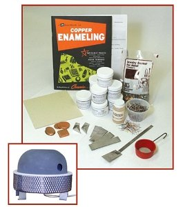 Delphi Glass Enameling Beginner Kit