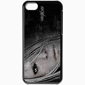 Personalized iPhone 5C Cell phone Case/Cover Skin Archlord Black