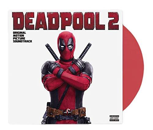 Price comparison product image Various Artists - Deadpool 2 Original Motion Picture Soundtrack Limited LP Exclusive Red Vinyl