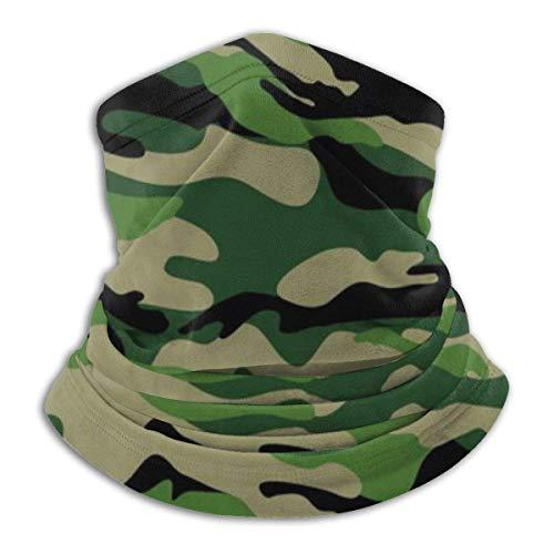 Belongtu Écharpe Military Pattern Headband Face Cover Bandana Head Wrap Scarf Neck Warmer Headwear Balaclava for Cold… 1