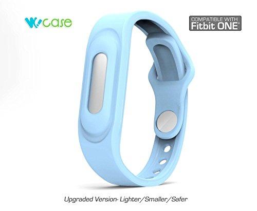 WoCase Wristband Bracelet for Xiaomi MiBand Activity and Sleep Tracker Band Bracelet (One size, Fits Most Wrist)