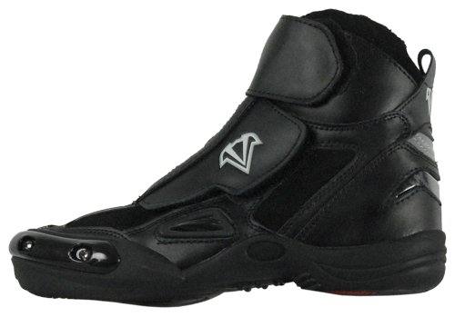 Vega Merge Men's Motorcycle Boots (Black, Size 10)