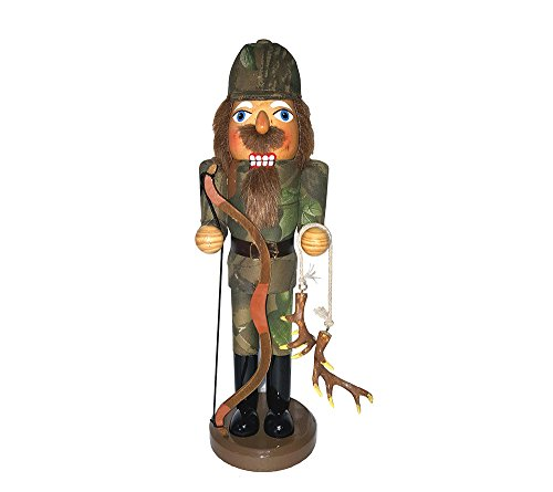 Santa's Workshop 70916 Bow Hunter Nutcracker, 14