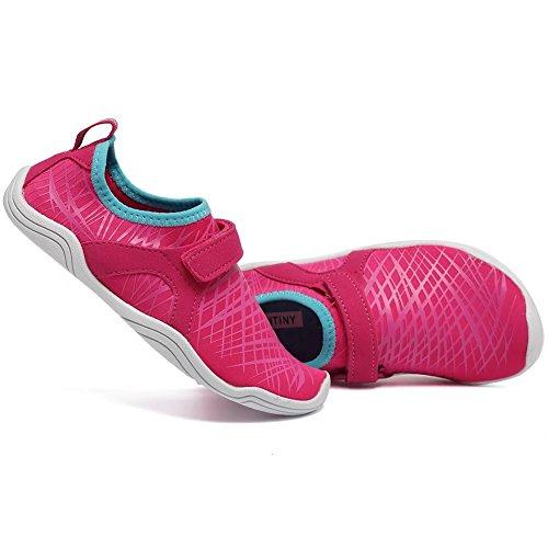 CIOR FANTINY Jungen & Mädchen Wasser Schuhe Leichte Komfort Sohle Leicht Walking Athletisch Slip Auf Aqua Socke (Kleinkind / kleines Kind / großes Kind) (Kleinkind / kleines Kind / großes Kind) K.pink
