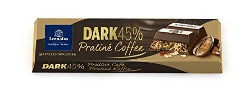 Leonidas Belgian Chocolates Pralines (Leonidas Belgian Chocolates - 50 gr Batons - Dark Coffee Praline - Carton)
