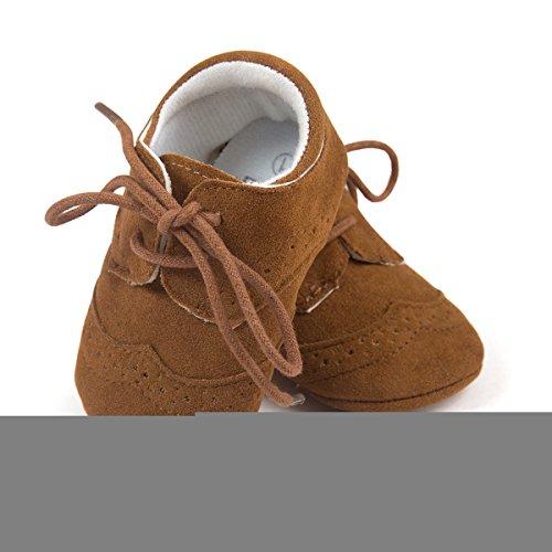 Estamico {chaussures Mois Darkbrown 3 Bébé Pas Pour garçon 6 Noir Premiers qpqxOwBgF