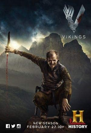 US Imported TV Series Wall Poster Print VIKINGS 30CM X 43CM Brand New