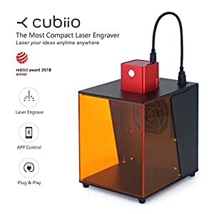 Amazon Com Cubiio The Most Compact Laser Engraver Red
