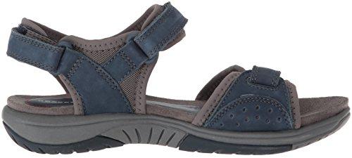 Rockport Kvinners Franklin Tre Stropp Sport Sandal Blå