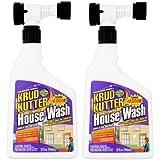 Krud Kutter Concentrated Formula Multi-Purpose House Wash, 32 fl oz (Pack of 2)