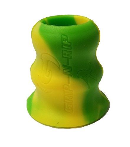 Grip-N-Rip II Softball Bat Taper, Green/Yellow