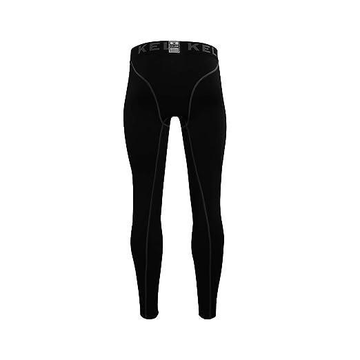 KELME Hombres para Running y Entrenamiento Compresión Pantalones ...