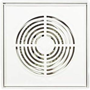 Extractor de aire ZHAOSHUNLI Ventilador de Escape Ventilador Ventilador Techo Integrado Cocina Baño Ventilación Aluminio Hebilla Placa Silencioso Ventilador ...