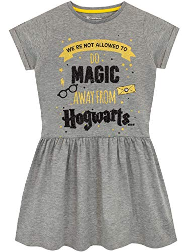 Harry Potter Dress - Harry Potter Girls' Hogwarts Dress Grey