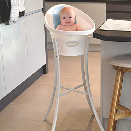 Baby Able Large Baby Bath Tub Set Beautiful Design With Smooth Curves And Flowing Roll Top