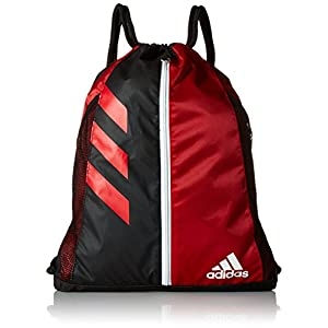 adidas Team Issue Sackpack, One Size, University Red/Black