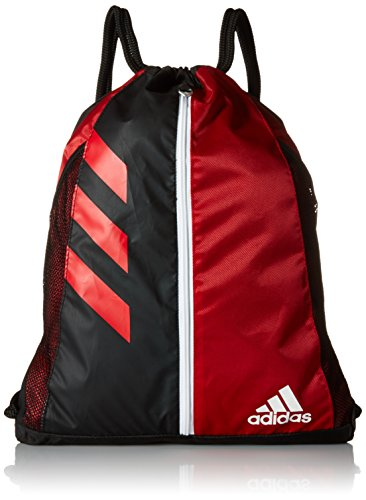 adidas Team Issue Sackpack, University Red/Black, One Size