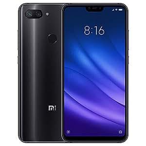 "Xiaomi Mi 8 Lite 15,9 cm (6.26"") 6 GB 128 GB SIM Doble 4G Negro 3350 mAh - Smartphone (15,9 cm (6.26""), 2280 x 1080 Pixeles, 6 GB, 128 GB, 12 MP, Negro)"