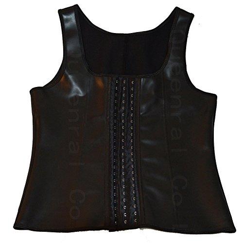 30f63ab0c70 Queenral Latex Waist Trainer Men s Tummy Control Steel Boned Sport Shapewear  - Buy Online in Oman.