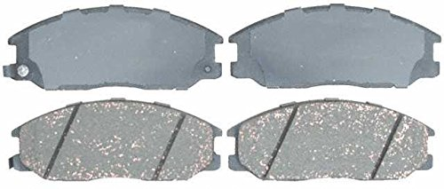 Prime Choice Auto Parts BRAKEPKG358 Set of 8 Drilled and Slotted Rotors and 4 Premium Ceramic Brake