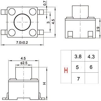 1.121 Bottom Diameter 2.386 Length 1.278 Top Diameter Lyndex 100-048 100TG Standard Collet 3//4 Opening Size