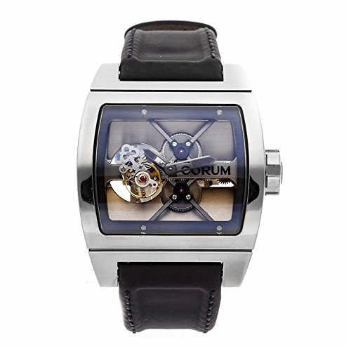 Corum Ti-Bridge Mechanical-Hand-Wind Male Watch 022.702.04/0F81 (Certified Pre-Owned)