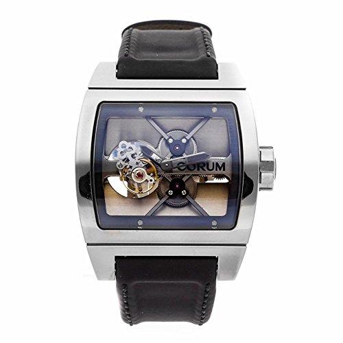 Corum Ti-Bridge Mechanical-Hand-Wind Male Watch 022.702.04/0F81 (Certified Pre-Owned)
