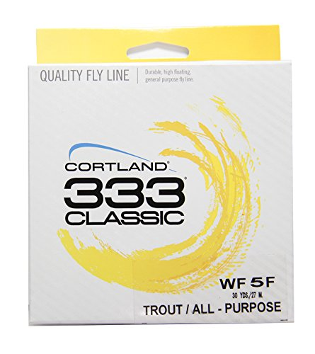 Cortland 333 Classic Trout/All Purpose Fly Line WF5F