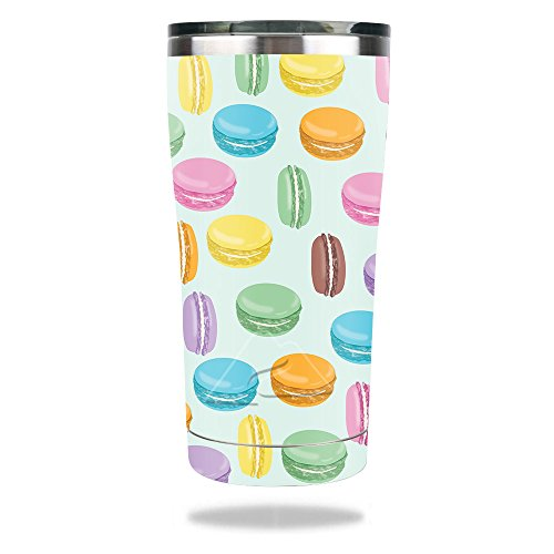 MightySkins Skin Compatible with Ozark Trail 20 oz Tumbler (2017) - Macarons | Protective, Durable, and Unique Vinyl Decal wrap Cover | Easy to Apply, Remove, and Change Styles | ()