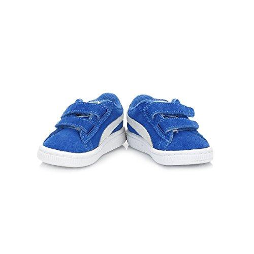 Puma niño azel Heritage gamuza sneaker