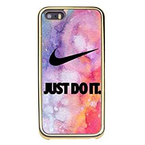Lovely Pattern Iphone 5 Case- Nike Logo Slim Back Cell Phone Plastic Case For Iphone 5s Carcasa