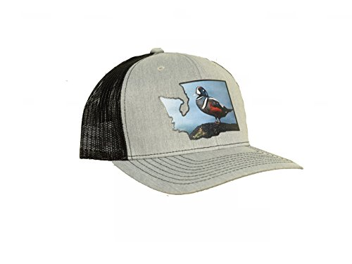 (Washington Harlequin Duck State Patch | East Coast Waterfowl)