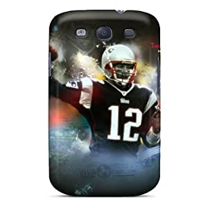 New Diy Design New England Patriots For Galaxy S3 Cases Comfortable For Lovers And Friends For Christmas Gifts