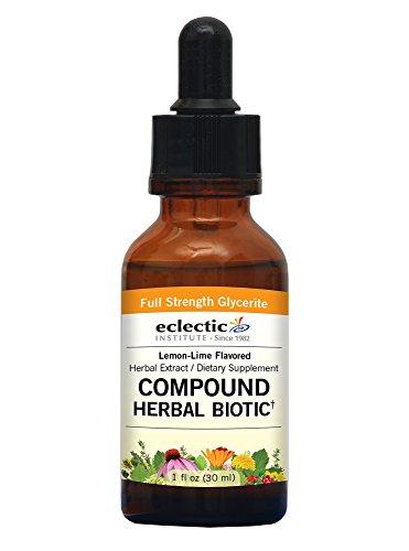 Eclectic Compound Biotic, Orange/Lemon-Lime, 1 Ounce