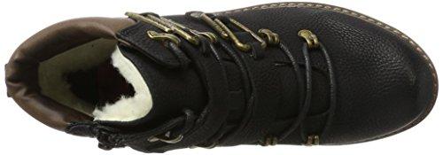 Black Women's Rieker 92231 Schoko Boots 00 Schwarz Black d6I6rqw