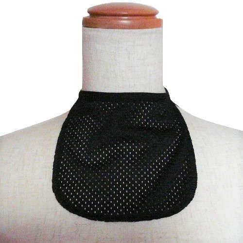 【気管切開】【喉頭摘出】【永久気管孔】 スタイスタイルカバー:メッシュブラック