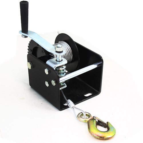 000lbs 1ton Capacity Worm Gear Hand Winch ()