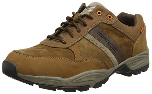 camel active Evolution WP 28 Herren Sneakers Braun (timber/taupe)