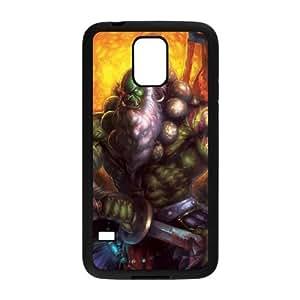 world of warcraft Samsung Galaxy S5 Cell Phone Case Black yyfD-285583