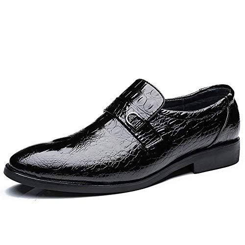 Crocodile Pelle Eu Luxury Classic Dimensione Formal colore Nero Taglia Business Vera Nero Oxford colore Casual Mens 38 Shoes In Style 2018 Fashion 42 UwzFvv