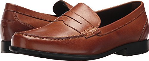 Rockport Mens Barnaby Lane Penny Brown 1 13 M (D)