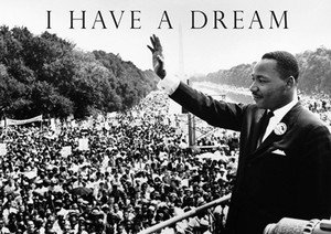 I have a dream - Martin Luther King - A3 poster: Amazon.co.uk ...