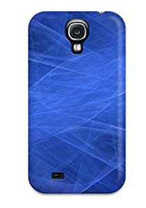 Excellent Design Abstract Blue Phone Case For Galaxy S4 Premium Tpu Case