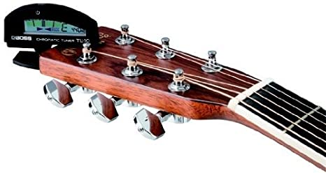 Boss TU10BK Afinador para guitarra - Afinador cromático de pinza TU-10 Negro: Amazon.es: Instrumentos musicales
