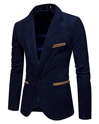 Casual Saoye Giacche Slim Fit Fashion Blazer Prom Da Smoking Mens Infermiera Marine Giacca Sposa Partito Elegante Giovane r1rXw