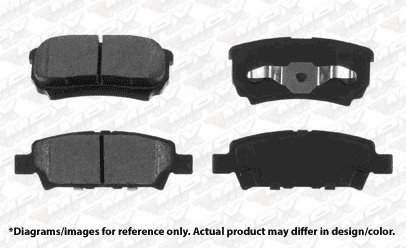 OE Series Rotors + Ceramic Pads Fits: 2014 14 Chrysler 200 w//262mm Rear Rotors KT071042 Max Brakes Rear Premium Brake Kit
