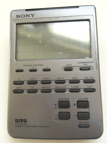 (SONY RM-AV2100 LCD Universal Integrated Remote Commander (Discontinued by Manufacturer))