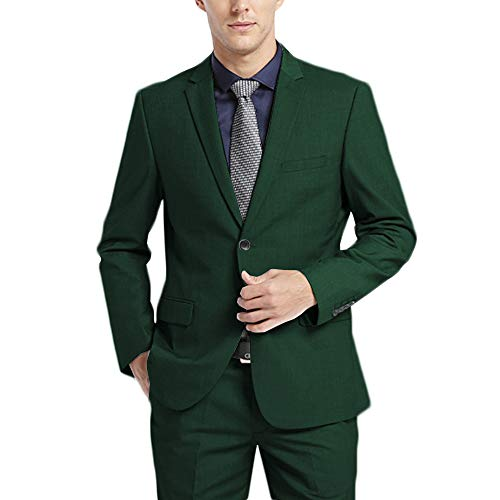 WEEN CHARM Men's Suits One Butto...