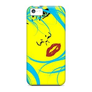 For HiLMI5419jIKXh Blue Beauty Protective Case Cover Skin/iphone 5c Case Cover